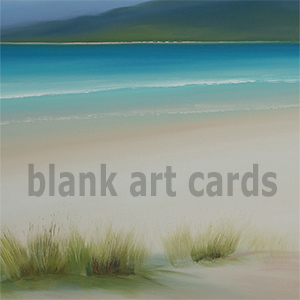 Blank art cards - pack of 6 cards - £10