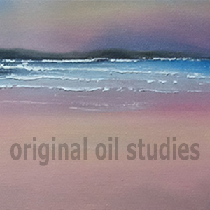 mini oil paintings - 30cm x 15cm - £110 each